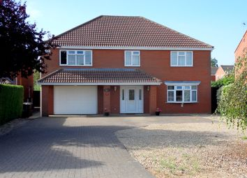 Thumbnail 4 bed detached house for sale in Hungate Road, Emneth, Wisbech, Cambridgeshire