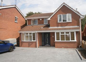 Thumbnail 4 bed detached house for sale in Dickens Close, Galley Common, Nuneaton, Warwickshire