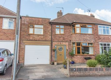 Thumbnail 4 bed semi-detached house for sale in Queens Road, Blaby