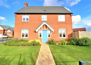Thumbnail 4 bed detached house for sale in Esam Close, Farnsfield, Newark