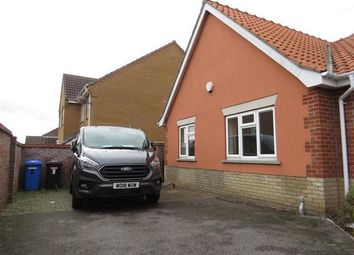 Thumbnail 2 bed semi-detached bungalow to rent in Broad Fleet Close, Oulton, Lowestoft