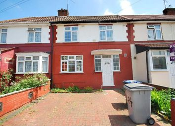 Thumbnail 3 bed terraced house to rent in Abbey Avenue, Wembley, Middlesex