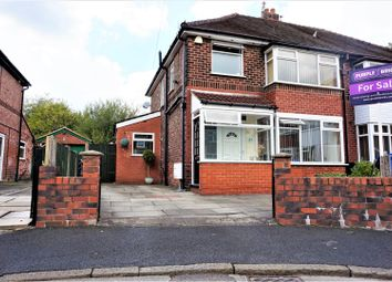Thumbnail 3 bedroom semi-detached house for sale in Bradshaw Fold Avenue, Manchester