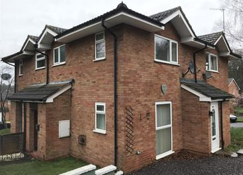 Thumbnail 1 bed maisonette to rent in Humphries Drive, Kidderminster