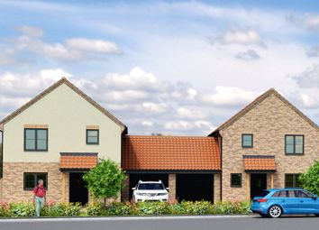 Thumbnail 3 bed detached house for sale in Plot 1 And 2, Palmers Lane, Freethorpe