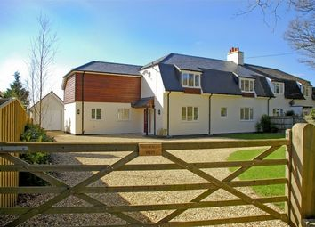 Thumbnail 4 bed semi-detached house for sale in Sway, Lymington, Hampshire