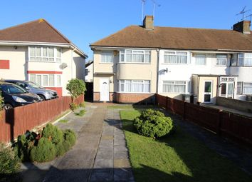 Thumbnail 3 bed semi-detached house to rent in Rochester Road, Gravesend, Kent
