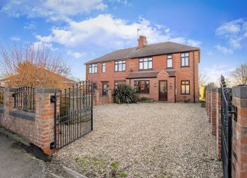 Thumbnail 3 bedroom semi-detached house for sale in Main Street, Clarborough, Retford