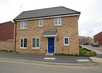 Thumbnail 3 bed detached house for sale in Damselfly Road, Northampton