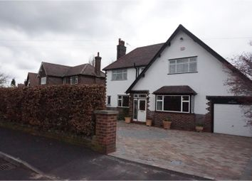 Thumbnail 4 bed detached house for sale in Clifton Drive, Marple
