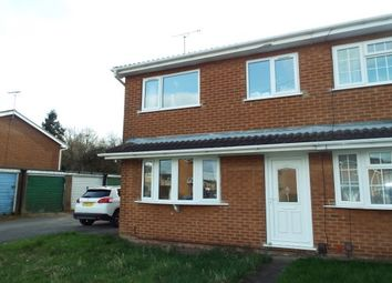 Thumbnail 3 bed property to rent in Christchurch Road, Hucknall, Nottingham