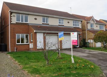Thumbnail 3 bed semi-detached house for sale in Harrier Close, Hartlepool