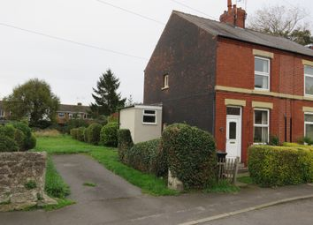 Thumbnail 2 bed end terrace house for sale in Lindrick Road, Woodsetts, Worksop