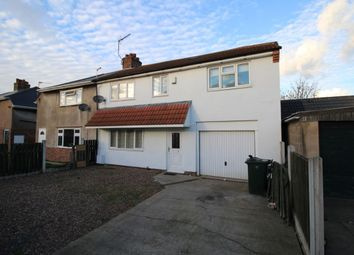 Thumbnail 3 bed semi-detached house for sale in Poplar Road, Dunscroft, Doncaster