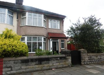 Thumbnail 3 bed semi-detached house for sale in Mosslands Drive, Wallasey