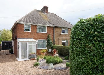 Thumbnail 3 bed semi-detached house for sale in Eversden Road, Cambridge