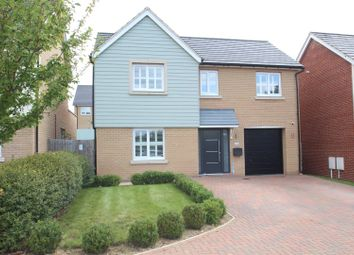 Thumbnail 4 bed detached house for sale in Skinners Close, Redhouse Park, Milton Keynes