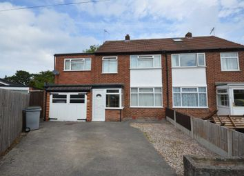 Thumbnail 4 bed semi-detached house for sale in Quarry Avenue, Bebington, Wirral