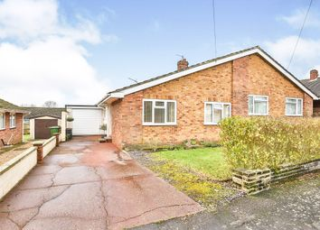 Thumbnail 2 bedroom semi-detached bungalow for sale in St. Hilda Road, Scarning, Dereham