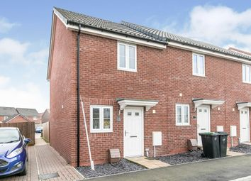 Thumbnail 2 bed end terrace house for sale in River Way, Great Blakenham, Ipswich