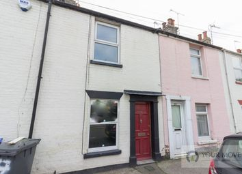 Thumbnail 2 bed terraced house for sale in Bevan Street West, Lowestoft