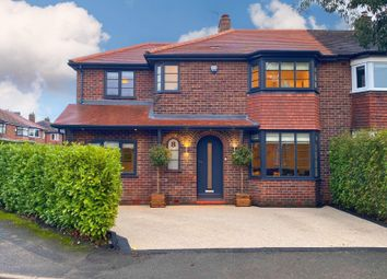 Thumbnail 4 bed semi-detached house for sale in Davehall Avenue, Wilmslow