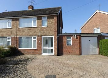Thumbnail 3 bed semi-detached house for sale in Pearcroft Road, Ipswich