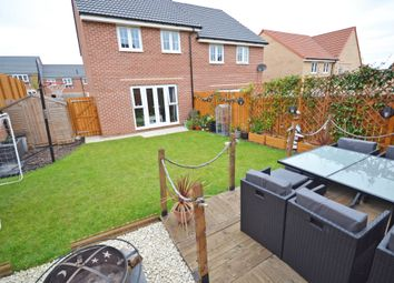 Thumbnail 3 bedroom semi-detached house for sale in Johnson Road, Wakefield