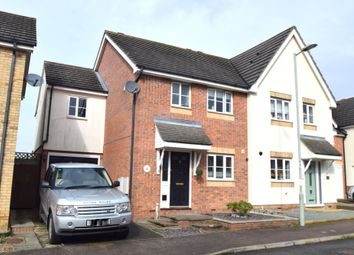 Thumbnail 4 bed semi-detached house for sale in Monarch Close, Haverhill