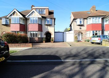 Thumbnail 4 bed semi-detached house for sale in Glebe Gardens, New Malden