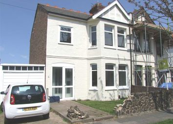 Thumbnail 3 bed semi-detached house to rent in Edith Road, Southend-On-Sea