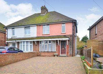 Thumbnail 3 bed semi-detached house for sale in Bentley Road, Willesborough, Ashford, Kent