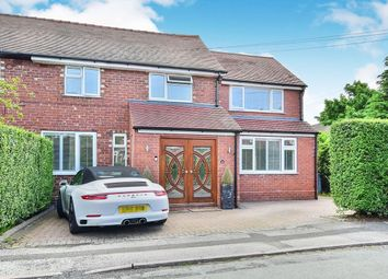 Thumbnail 4 bed terraced house to rent in Oakfield Road, Alderley Edge