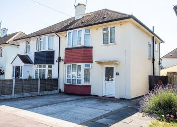 Thumbnail 3 bed semi-detached house for sale in Broomfield Avenue, Leigh-On-Sea