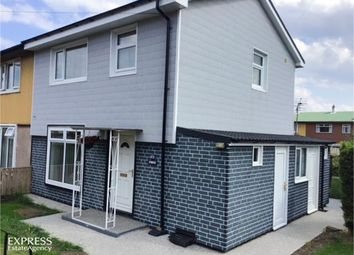 Thumbnail 3 bed semi-detached house for sale in Oak Road, Peterlee, Durham