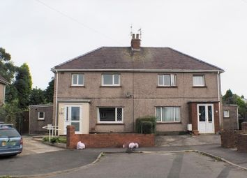 Thumbnail 3 bed semi-detached house for sale in Brynymor, Three Crosses