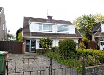 Thumbnail 3 bed semi-detached house for sale in Glyn Derwen, Cwm Las, Llanbradach, Caerphilly