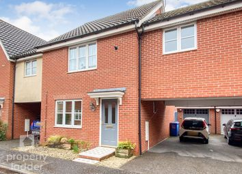Thumbnail 3 bed terraced house for sale in Audax Road, Old Catton, Norwich
