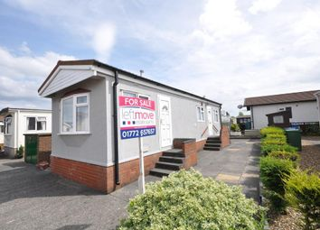 Thumbnail 1 bed mobile/park home for sale in Lynwood Park, Warton, Preston, Lancashire