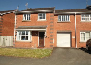 Thumbnail 4 bed semi-detached house for sale in Jemmett Close, Oswestry