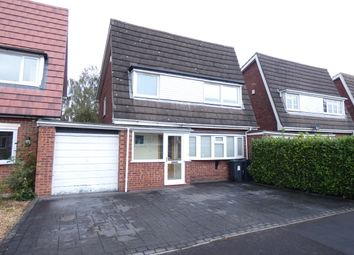 Thumbnail 4 bed detached house to rent in Southam Drive, Wylde Green, Sutton Coldfield
