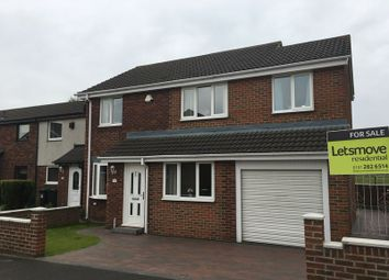 Thumbnail 4 bed property for sale in Sutton Court, Wallsend