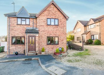 Thumbnail 2 bedroom semi-detached house for sale in Marlborough Close, Yaxley, Peterborough