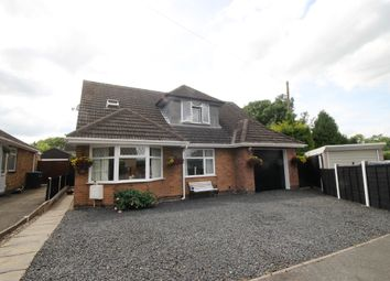 Thumbnail 5 bed detached bungalow for sale in Hillside Road, Burbage, Hinckley