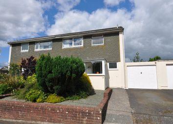 Thumbnail 3 bed semi-detached house for sale in Wakehams Close, Modbury, Ivybridge