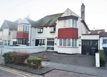 Thumbnail 4 bed semi-detached house for sale in Kent View Avenue, Leigh-On-Sea