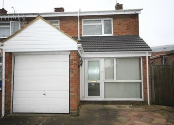 Thumbnail 3 bed semi-detached house to rent in Bodmin Road, Luton