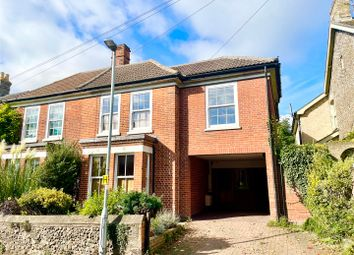 Thumbnail 4 bed semi-detached house for sale in Gainsborough Road, Sudbury