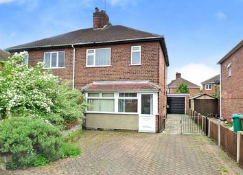 Thumbnail 3 bed semi-detached house to rent in Welwyn Road, Wollaton, Nottingham