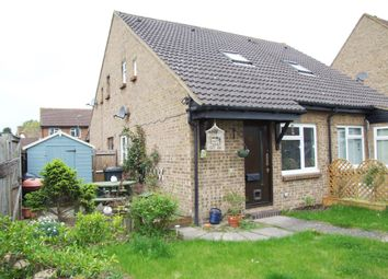Thumbnail 1 bed end terrace house to rent in Bradfield Close, Burpham, Guildford